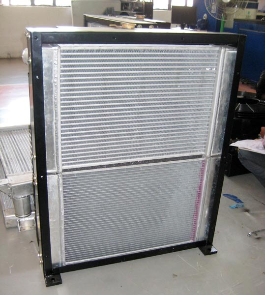 Industrial Fuel Coolers : Industrial radiators defence truck oil cooler suppliers