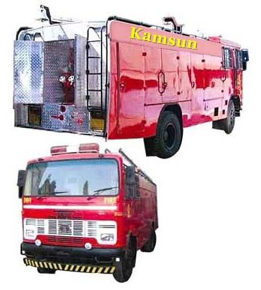 Foam Cum DCP Fire Tender