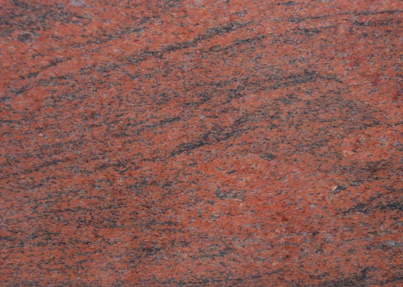 Red Multi Granite Slab