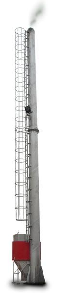 Steel Pipe Chimney