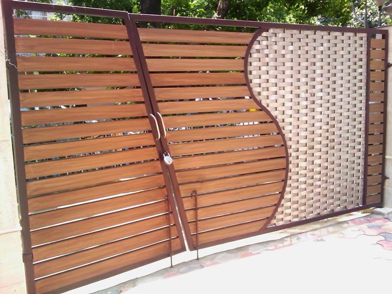 Wooden Gate,Designer Wooden Gates,Wooden Garden Gates ...
