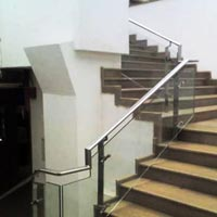 Mild Steel Stair Railing 06
