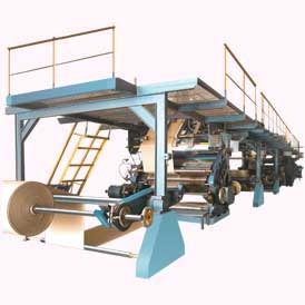 Automatic 3&5 Ply Paper Corrugated Board Making Plant