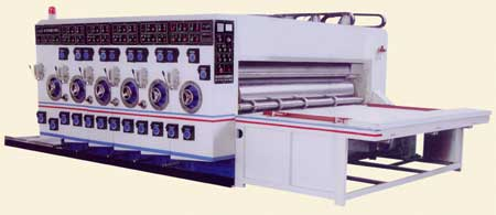 MultiColor Printing Slotting Machine