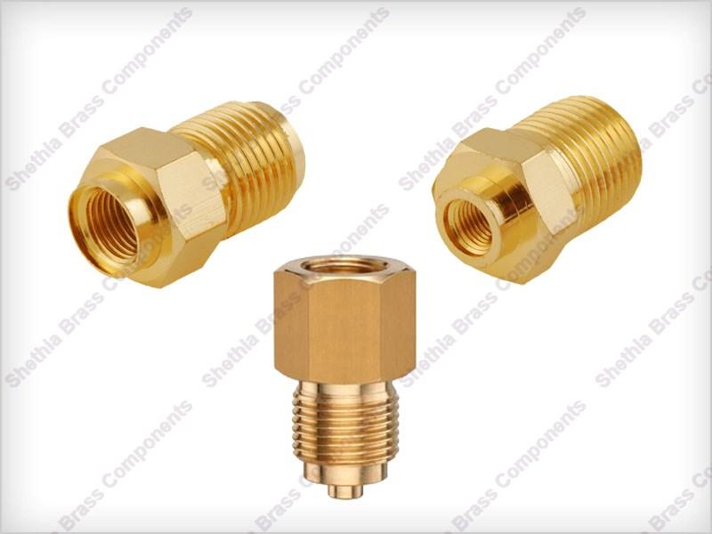 Brass Pressure Gauge Part 02