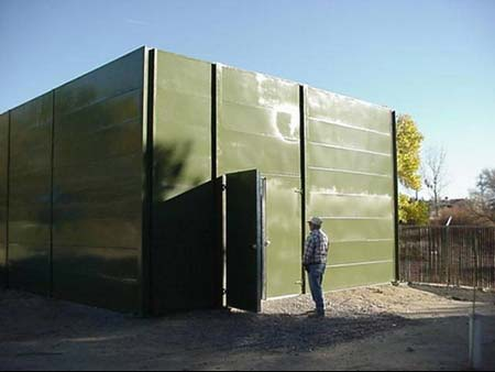 Diesel Generator Room Acoustic Enclosure