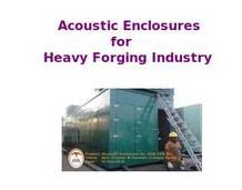 Heavy Forging Industry Acoustic Enclosure