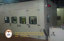 Low Noise Acoustic Enclosure