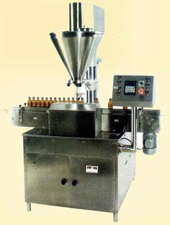 Automatic Double Head Auger Filling Machine