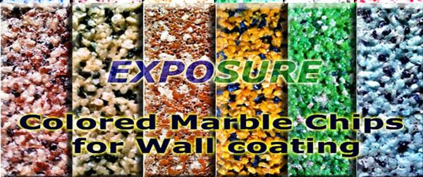 Natural Colored Marble Chips 02