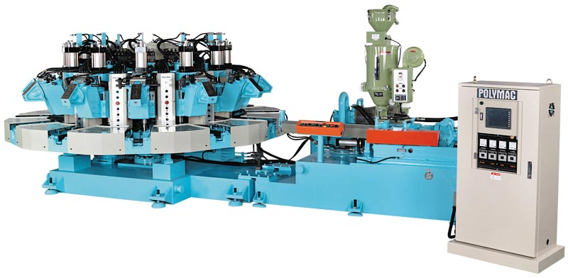 Automatic Rotary Sports Shoes Injection Machine (DR-81-6P)
