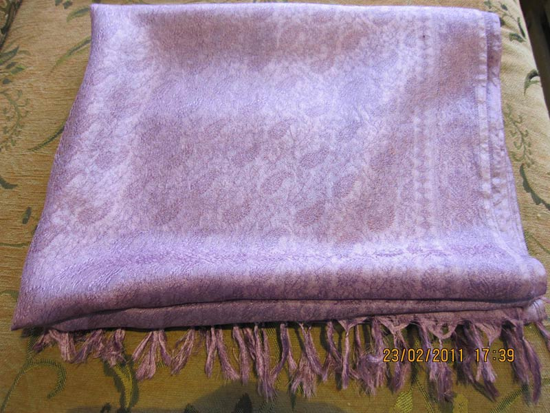 Herbal Dyed Silk Stoles