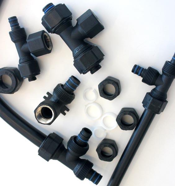 Polyvinyl chloride pressure pipe plastic compression