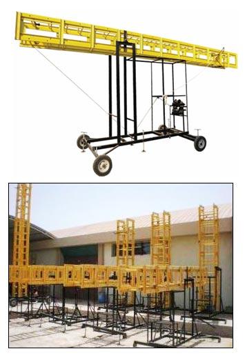 Tilting Ladders