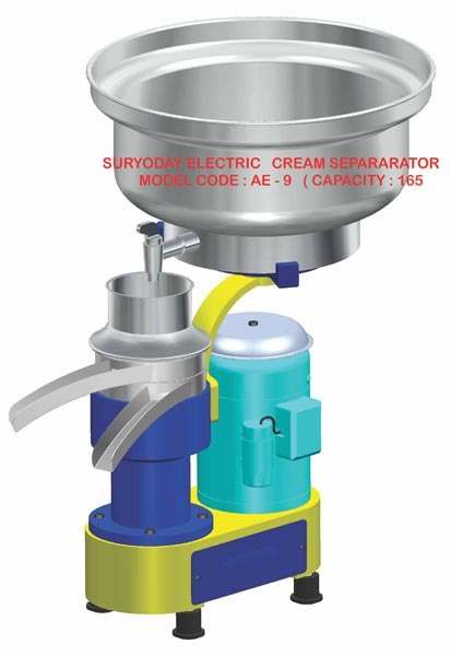 Electric Milk Cream Separators (AE - 9)