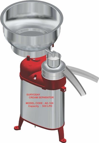 Electric Milk Cream Separator (AE - 108)