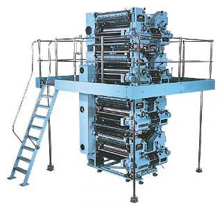 Four High Tower Printing Machine