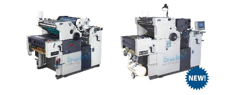 Two Colour Non Woven Bag Printing Machine
