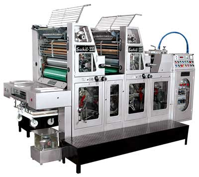 Two Colour Sheetfed Offset Printing Machine