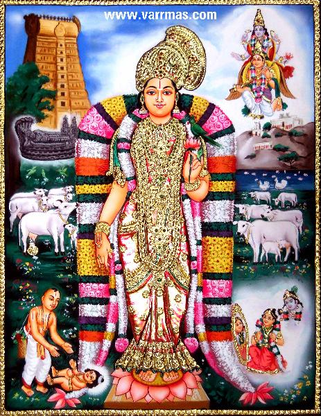 Andal Tanjore Paintings