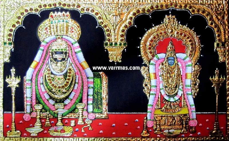 Annamalai Thayar Tanjore Paintings