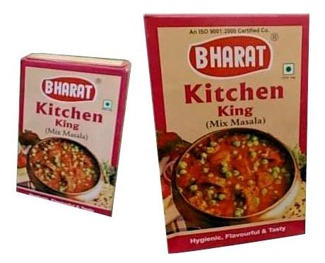 Sambar masala manufacturer bharat chana masala exporter for Kitchen king masala