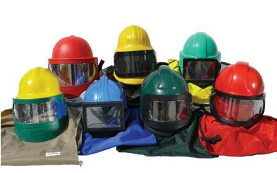 Blasting Helmets