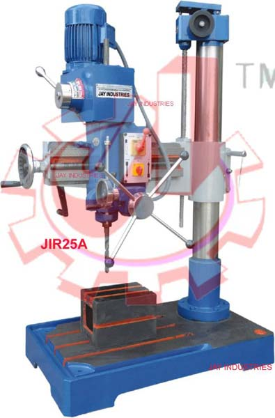 JIR25A : 25mm Cap. All Geared Radial Drilling machine