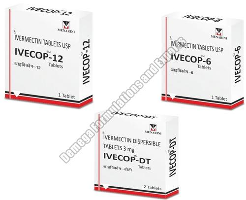 Ivecop 12mg Tablets