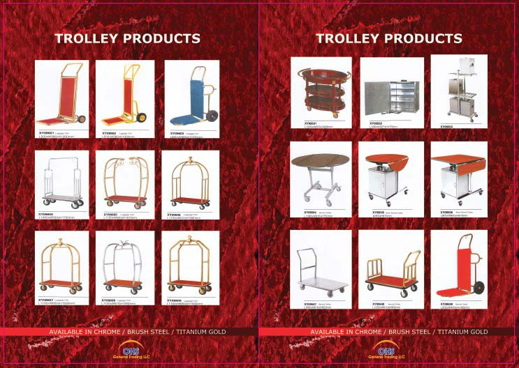 Trolleys Other Hotel Areas
