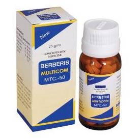 Berberis Multicom Tablets