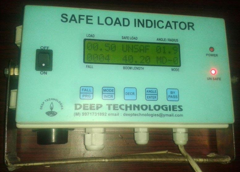 Safe Load Indicator Systems : Safe load indicators lift indicator manufacturer