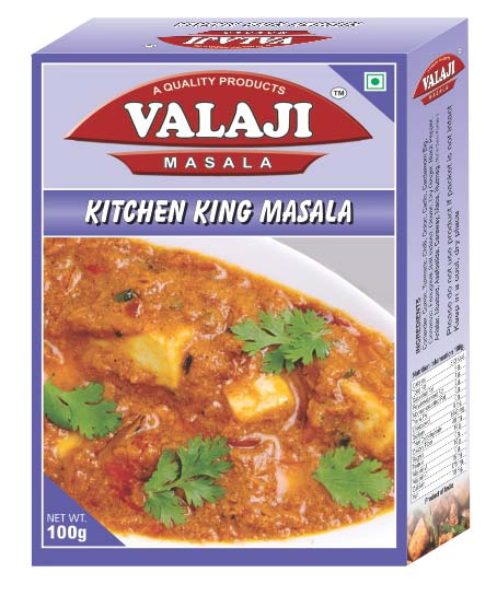 Valaji masala kitchen king masala manufacturer supplier in for Kitchen king masala