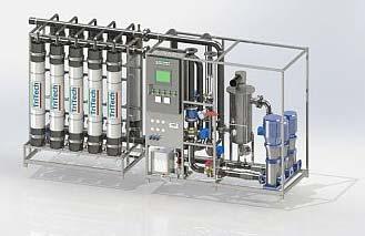 Continuous Membrane Water Treatment Plant
