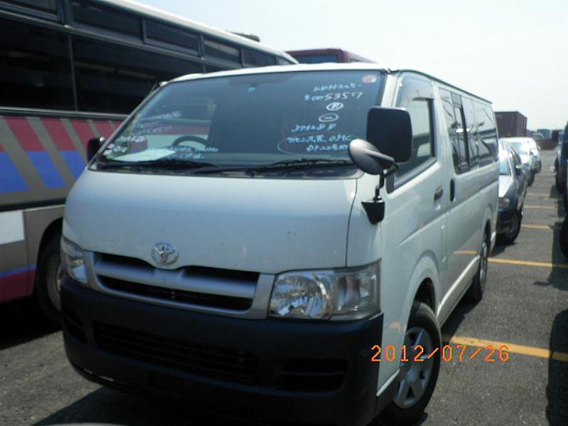 2006 Toyota Regius Ace Van Car