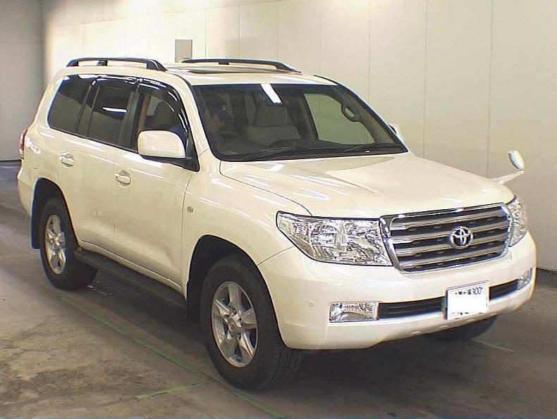 Car Toyota Land Cruiser - RHD Car