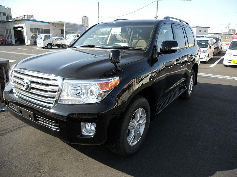 2014 Toyota Landcruiser - RHD Car