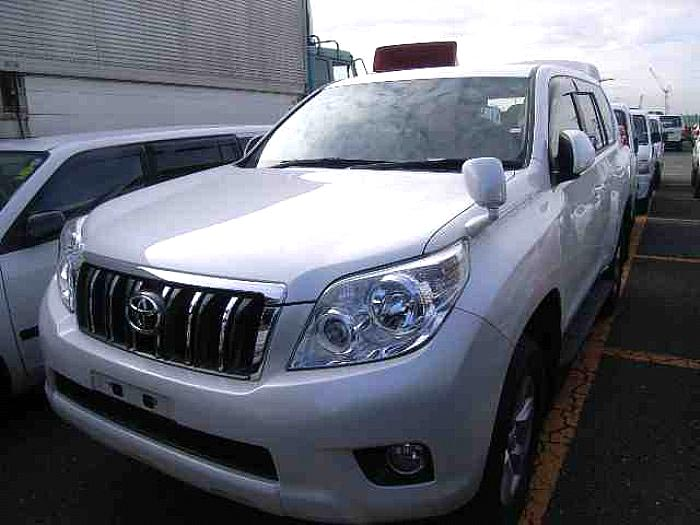 Used 2012 Toyota Land Cruiser Prado TRJ150 Car
