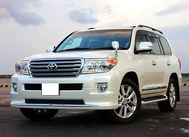 Used 2013 Toyota Land Cruiser Car (White)
