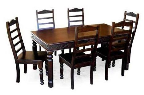 Wooden dining table set wood dining table set for Wood dining table set