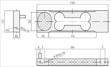 Load Cell (CZL-651) Graph Image