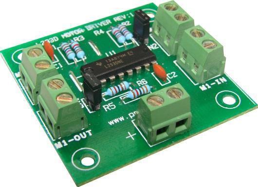 Microcontroller Development Board Kit L293d Motor Driver