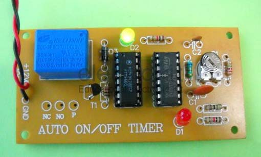 Auto On Off Timer Auto On Off Timer Circuit Manufacturer