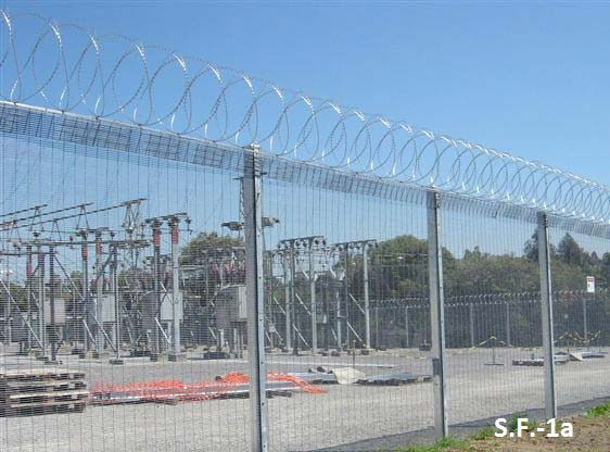 Metal Security Fencing 01