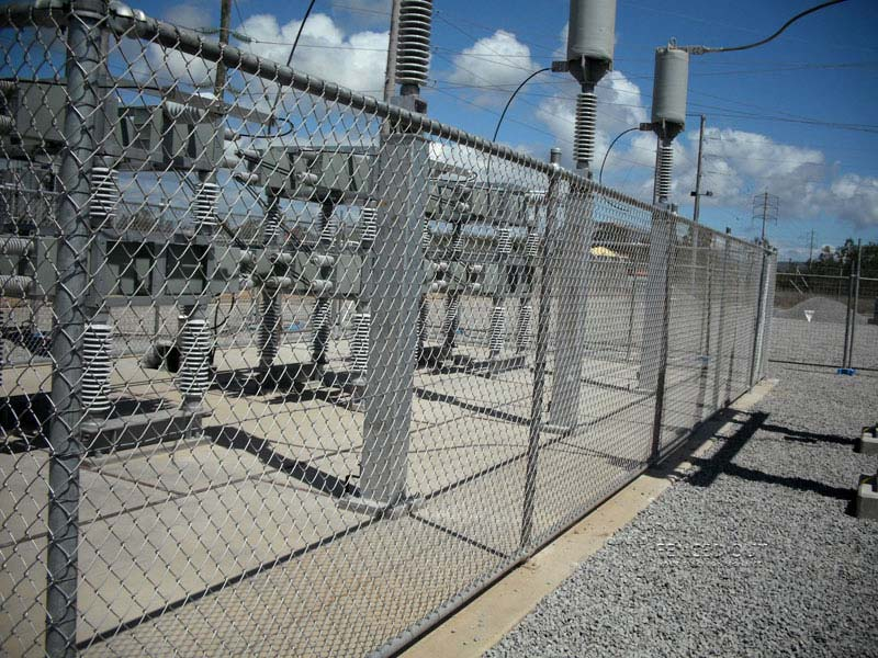 Substation Fencing 01