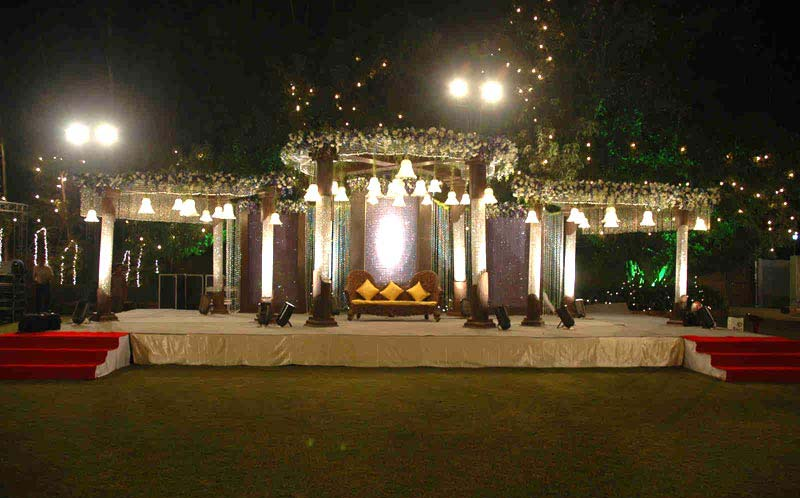 Stage Wedding Wedding Crystal Stage