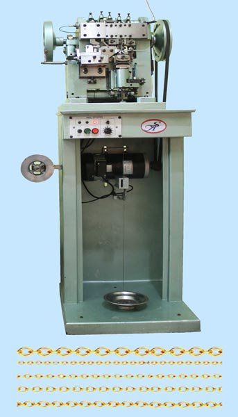 Side Cut Cable Chain Making Machine