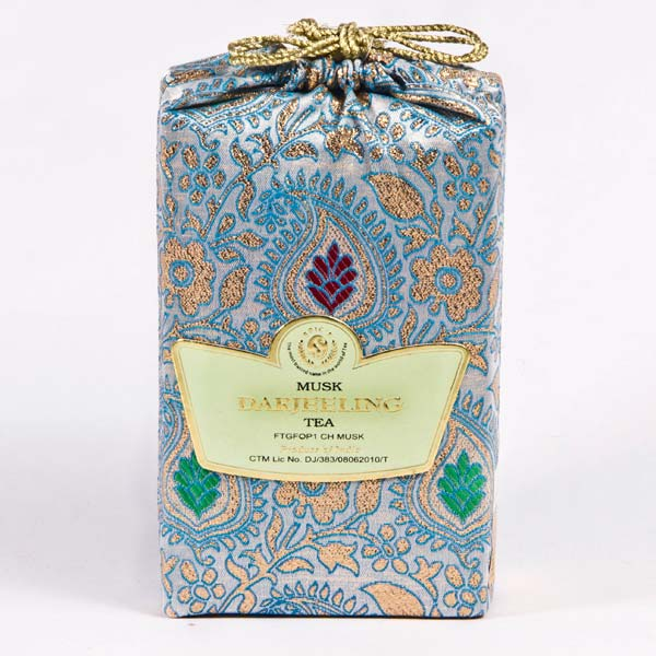 Musk Blue Darjeeling Tea