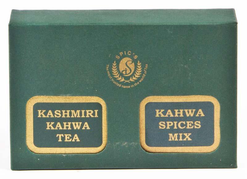 The Kashmiri Kahwa Green Tea