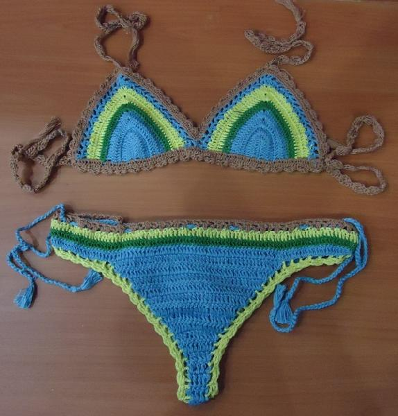 Crochet Lingerie Set